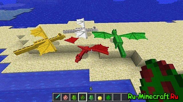 Мод Dragon Mounts для Minecraft 1.5.2 скачать бесплатно