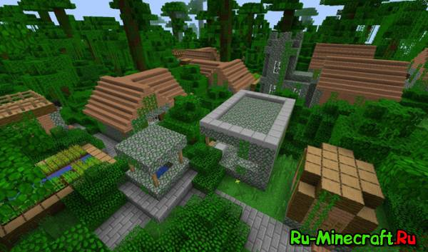 [1.5.1][Forge] MORE VILLAGE BIOMES MOD - Больше деревень!