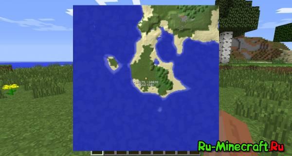 скачать мод на мини карту для minecraft 1.7.10 с радаром