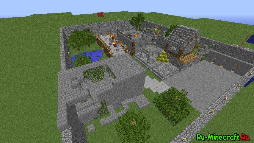 [Map]PvP Карта - Руины » Майнкрафт, все о Minecraft: http://ru-minecraft.ru/karty-dlja-minecraft/17373-mappvp-karta-ruiny.html