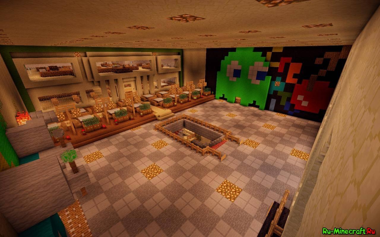 скачать спавн для сервера minecraft 1.7.2 с варпами и магазином