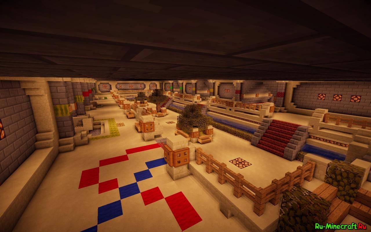 скачать спавн для сервера minecraft 1.7.2 с варпами и магазином #10