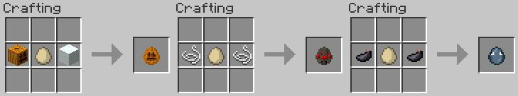 Майнкрафт рецепты с яйцами