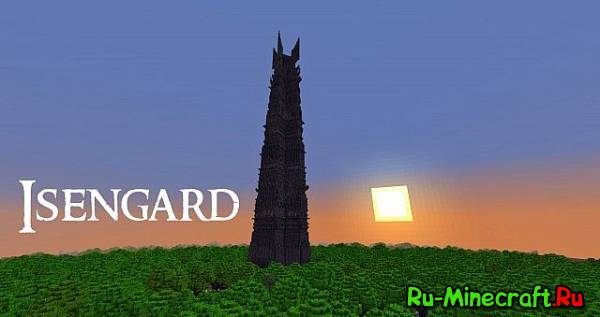 [Map] Isengard A lord of the Rings build - �������� �� ���������� �����