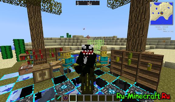скачать сборку minecraft 1.4.7 с модами #10