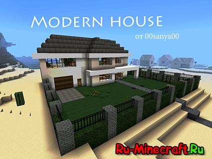 Map современный дом в стиле modern