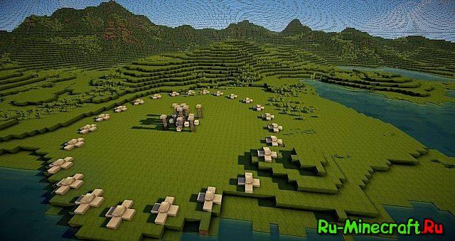 карта голодные игры для minecraft 0 13 0