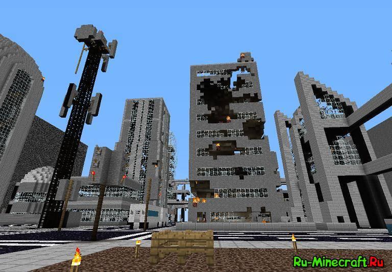 Карта SkyGrid для Minecraft - Скачать Карты