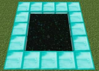 how to make portals in minecraft xbox 360 creative