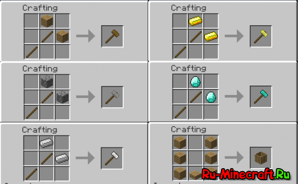 Compressed Crafting Table