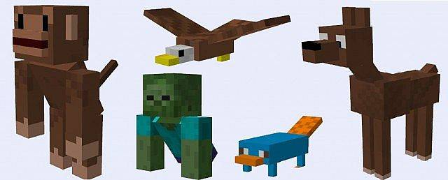 Mods forge too many mobs mod новые мобы