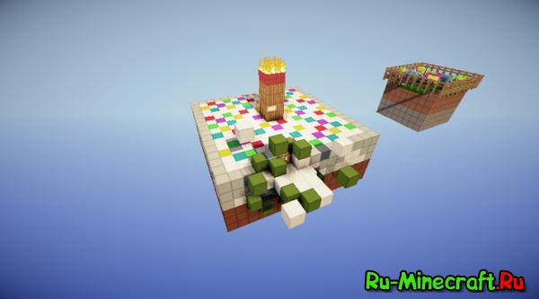 Minecraft pe выживание как сделать торт