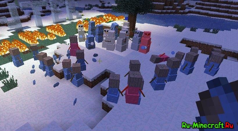 Winter warfare снежки