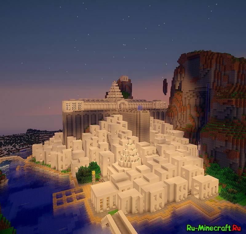 Скачать карту город для minecraft - fc