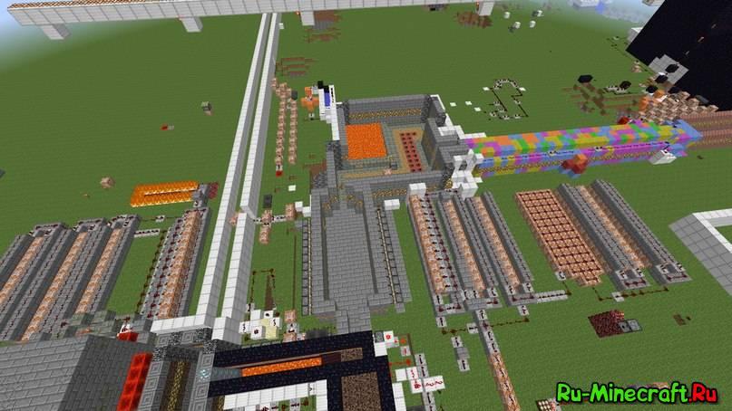 Механический дом в Minecraft (ДОМ СИВЕРУСА!!!). Механический дом - скачать.