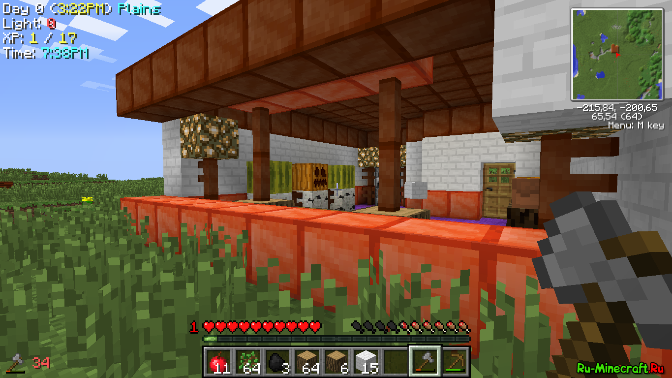 Скачать RPG сборку Minecraft 1.6.4 [MCPC+]