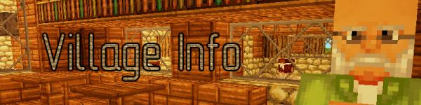 [Mod][1.6.4][1.7][1.8] Village Info - узнай всё о деревне!