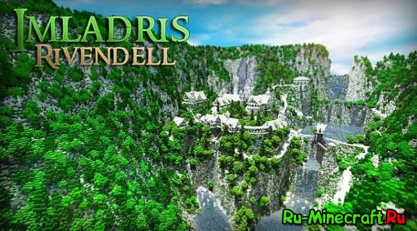 "[Map] The Valley of Imladris - Rivendell � ������� �� ""��������� �����"""