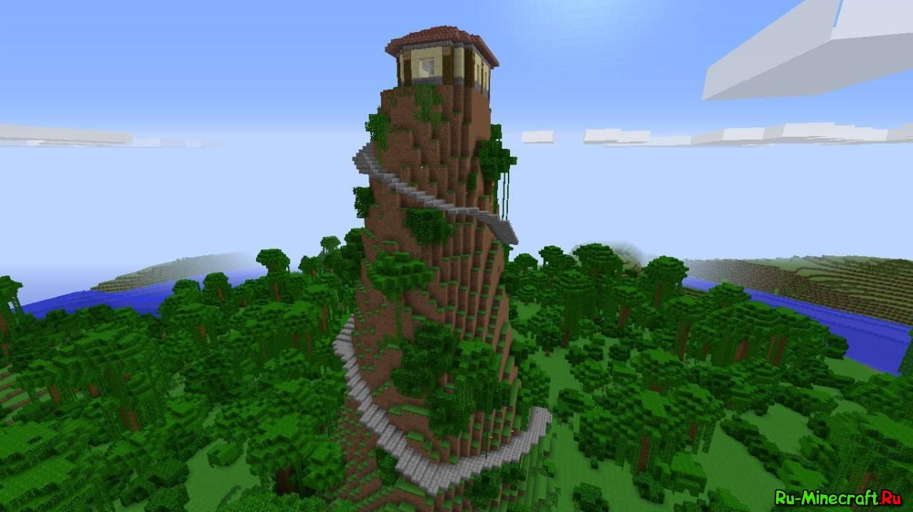Map Jungle Mountain House - Уютный домик на вершине