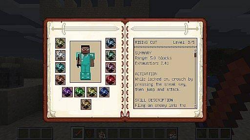 [1.7.2] Dynamic Sword Skills Mod - расправа в Minecraft!