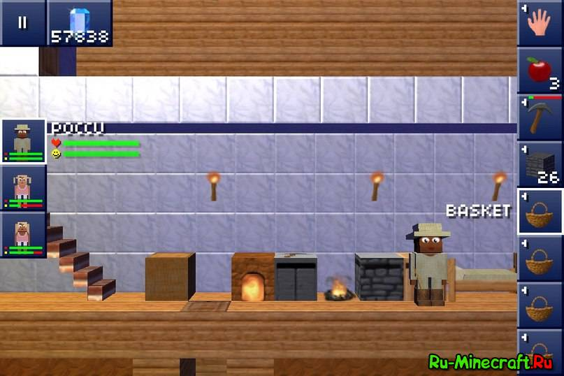 Скачать Minecraft 0.16.0 на Андроид