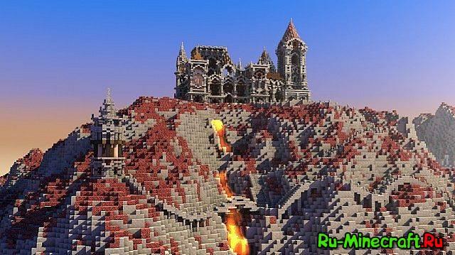 Красивая крепость