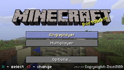 [Разное][PSP] MultiCraft Portable Edition 1.1.0