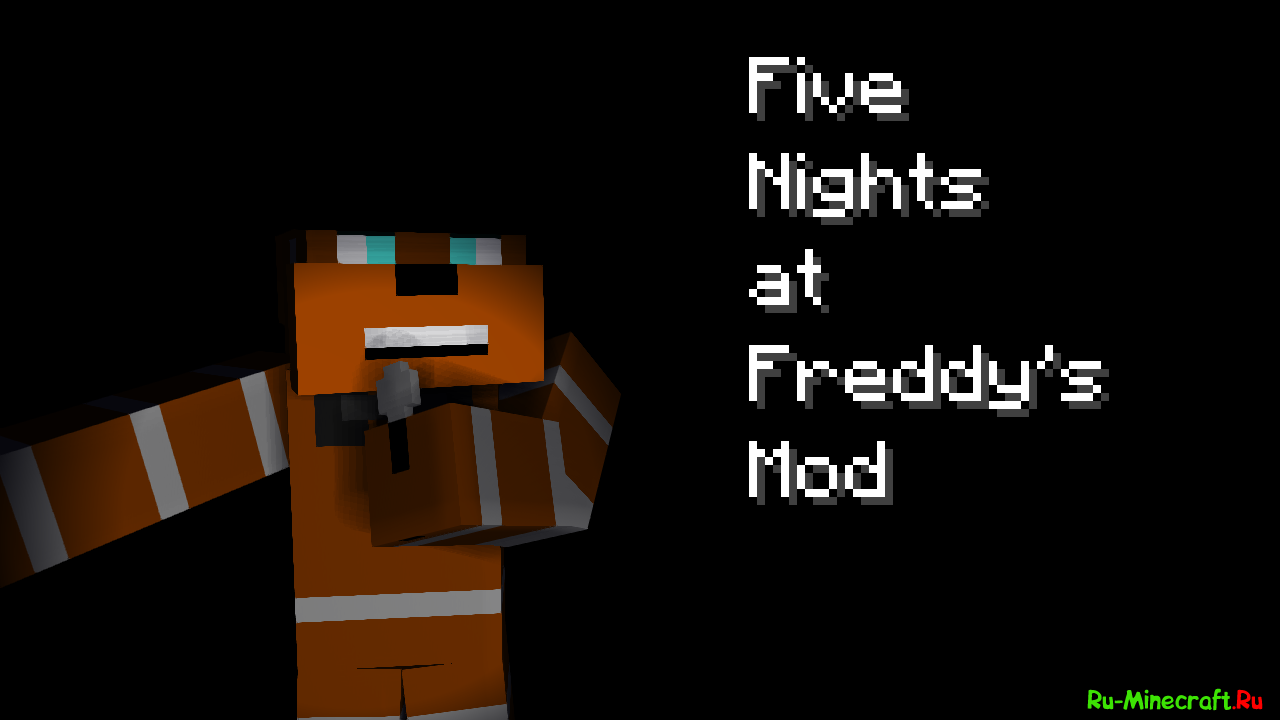 Скачать Five Nights at Freddy's для Minecraft 1.7.10