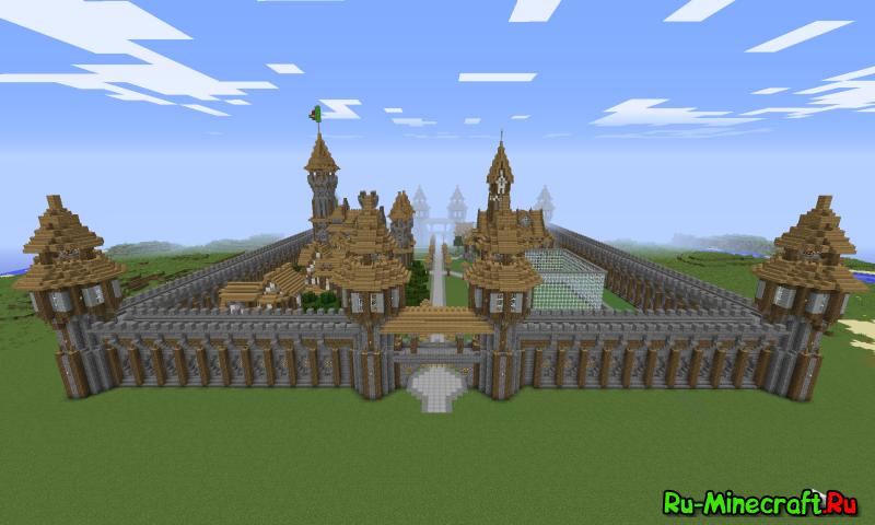 Спавн для сервера Minecraft 1.5.2 - Скачать Готовые ...