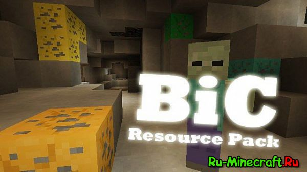 [1.8.1-1.11][16x] Bic Resource Pack - Альтернатива