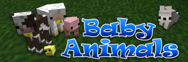 Baby Animals Model Swapper милые детёныши [1.11.2|1.10.2|1.9.4|1.8.9|1.7.10|1.6.4]