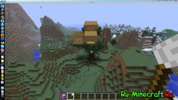 скачать мод для minecraft 1.7.10 на постройки в один клик