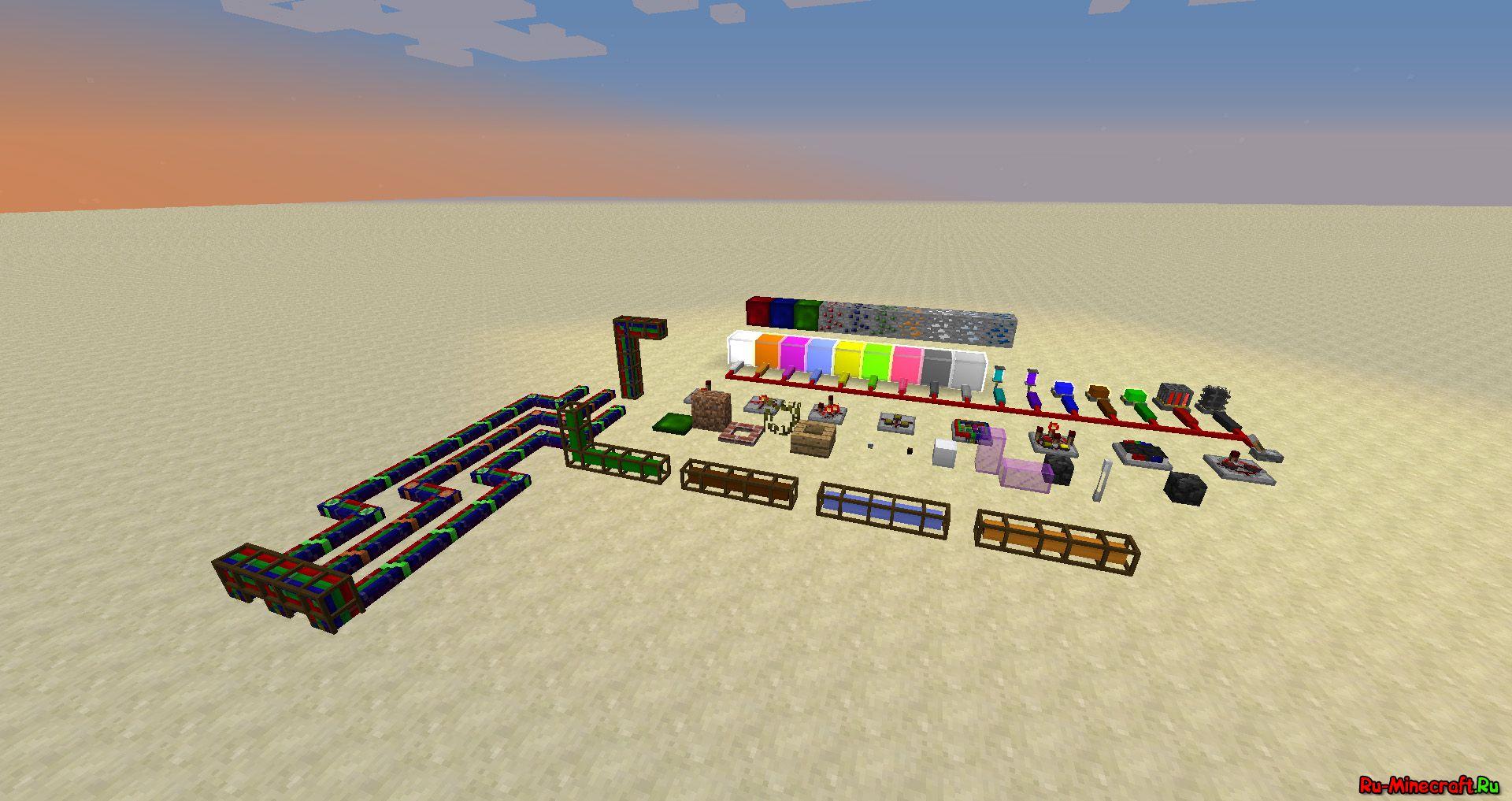 Minecraft мод Redpower 2