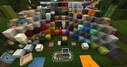 Minecraft модерн