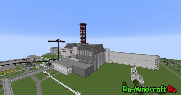 Как в майнкрафте сделать атомную станцию видео