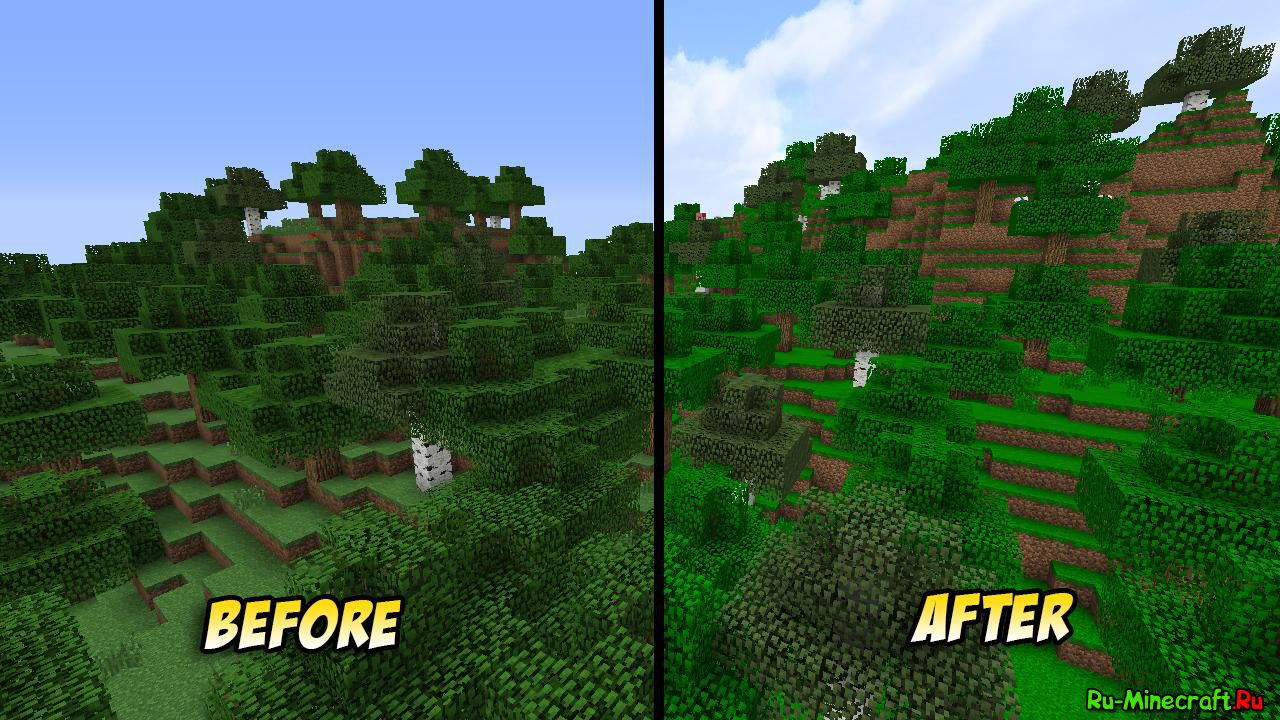 PureBDcraft текстур-пак на Minecraft 1.8/1.7.10