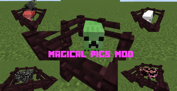 [1.8.9] Magical Pigs Mod - ��������� ��������� ������