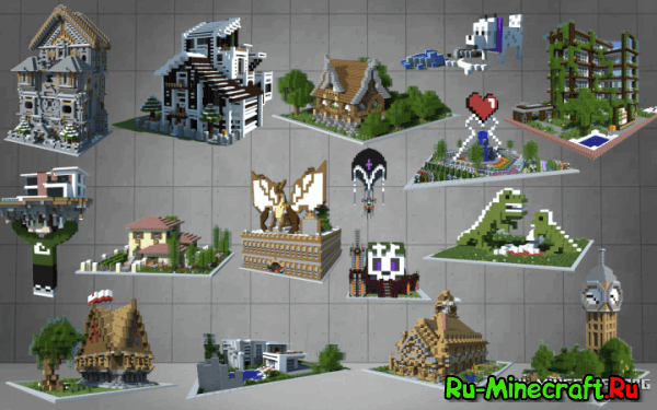 [Map][1.9-1.7.10] Dennie's Building Bundle - ����� ����� ��������!