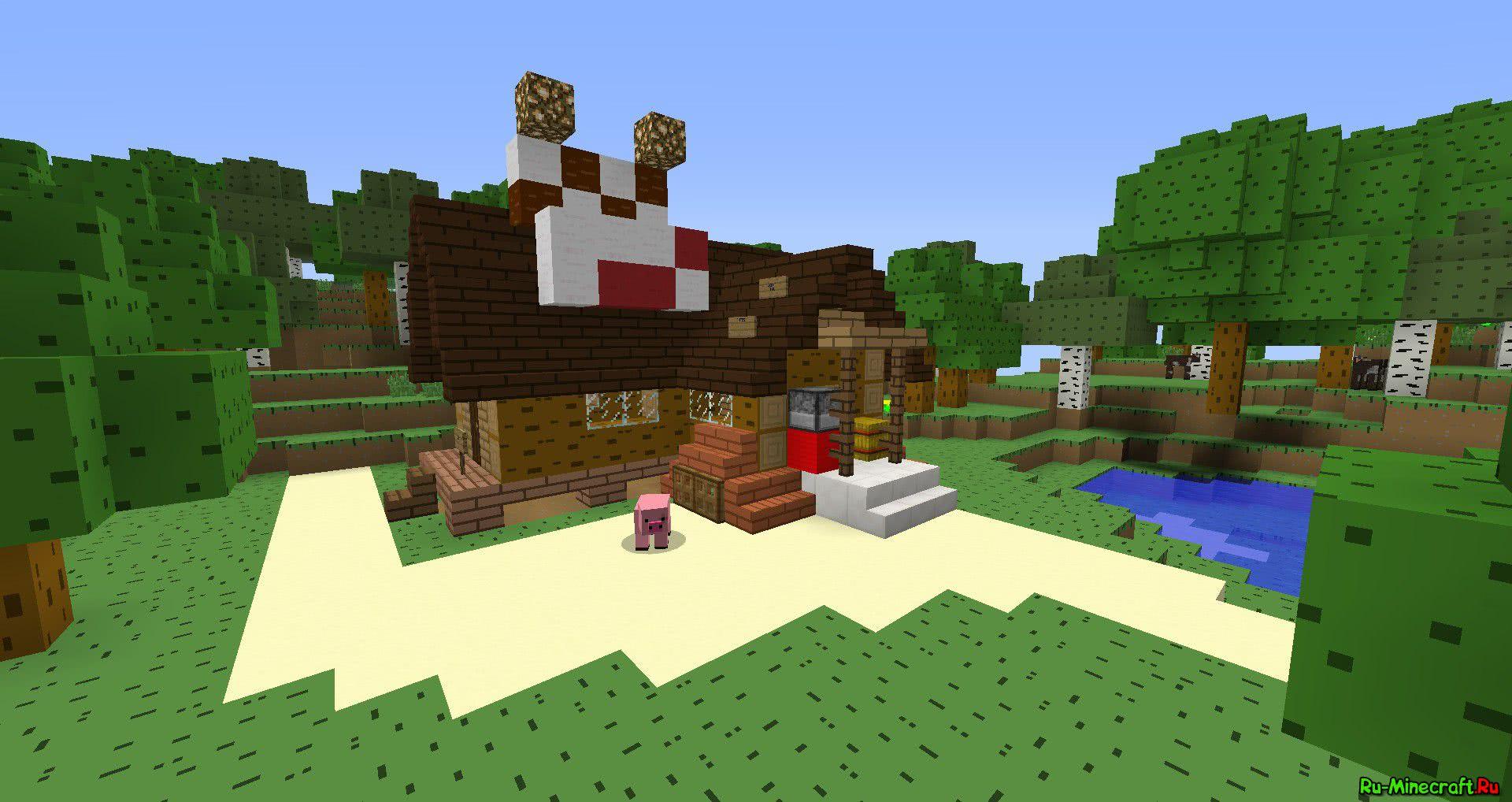 Gravity Falls текстур пак для Minecraft 1.5.2 и 1.6 ...