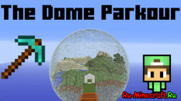 [MAP][1.10+]The dome parkour - ������ + ���������!