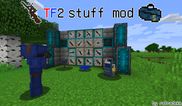 TF2 stuff mod - Team Fortress 2 [1.11.2|1.10.2|1.9.4|1.8.9|1.7.10]