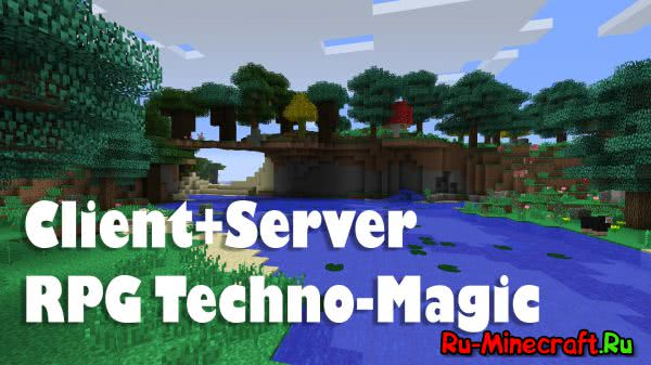 [Client+Server][1.7.10] RPG Techno-Magic сборка от RolleyTachi v1.2