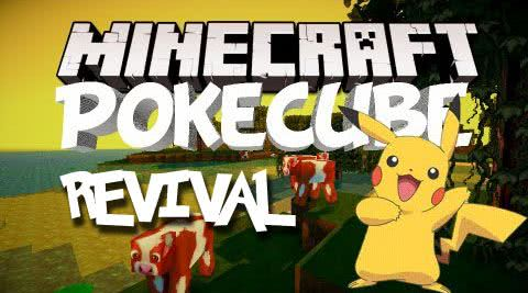 Pokecube Revival - покемоны [1.11.2-1.5.2]